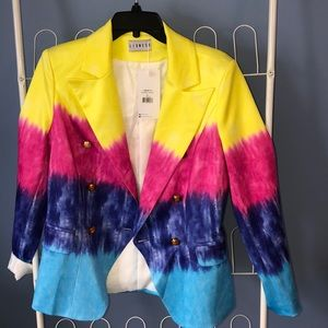 Lioness Palermo Blazer In tie dye , sold out !